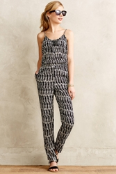 Plenty By Tracy Reese Patachou Petite Jumpsuit Black And White