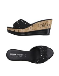 Chiara Pasquini Footwear Sandals Women Black