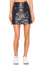 Tommy Hilfiger X Gigi Mini Skirt Black
