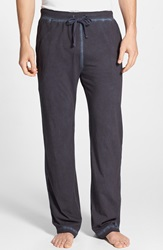 Daniel Buchler Powder Wash Peruvian Pima Cotton Lounge Pants Indigo Blue