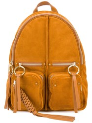 See By Chloe Straps Detailing Backpack Nude Neutrals