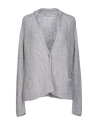 Le Tricot Perugia Cardigans Grey