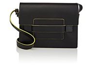 Delvaux Madame Pm Leather Shoulder Bag Black