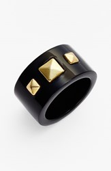 Women's L. Erickson 'Freda' Studded Ring Black