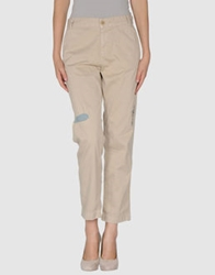 Current Elliott Casual Pants White
