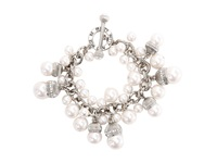 My Flat In London Pemberley Toggle Bracelet Pearl Bracelet White
