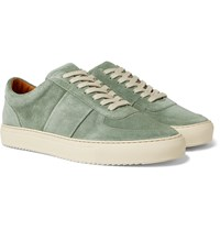 Mr P. Larry Suede Sneakers Green