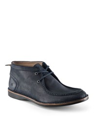 Andrew Marc New York Dorchester Suede Moccasin Boots Seared