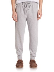 Hanro Luis Long Pants Grey Melange