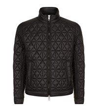 Boss Orange Obray Quilted Jacket Male Black
