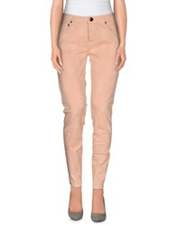 Max And Co. Trousers Casual Trousers Women Salmon Pink