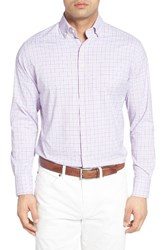 Peter Millar Men's English Regular Fit Plaid Sport Shirt