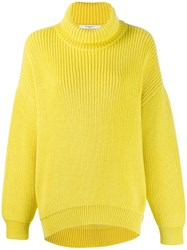 Givenchy Roll Neck Jumper Yellow