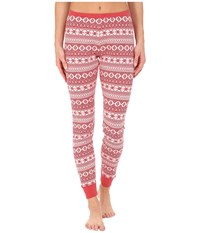 Ugg Hazelton Pants Scarlett Fair Isle Women's Casual Pants Pink