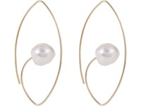 Hirotaka South Sea Pearl And Gold Floating Earring No Color