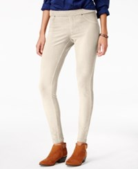 Hue Corduroy Leggings Whitecap Grey