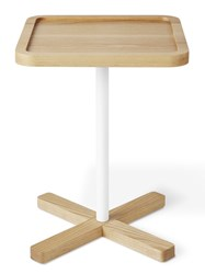 Gus Design Group Axis End Table Ash Beige