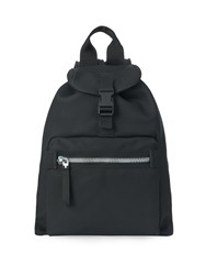 Lanvin Leather And Nylon Backpack