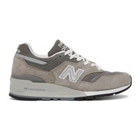 New Balance Grey Made In Us 997 Sneakers