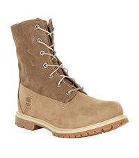 Timberland Fleece Lined Boots Female Brown