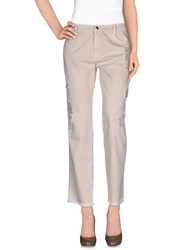 Ermanno Scervino Trousers Casual Trousers Women Beige