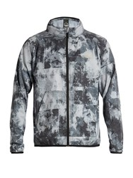 The Upside Night Runner Acid Print Performance Jacket Black Multi