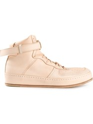 Hender Scheme High Top Trainers Pink And Purple