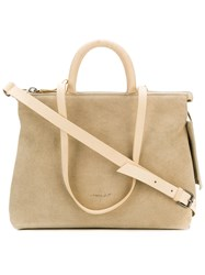 Marsell Casual Tote Bag Nude And Neutrals
