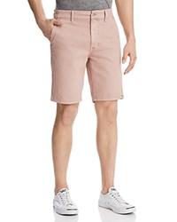 Joe's Jeans Twill Regular Fit Shorts Adobe Rose