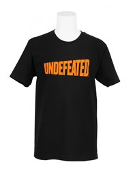 Undefeated T Shirt Whole Wheat Black