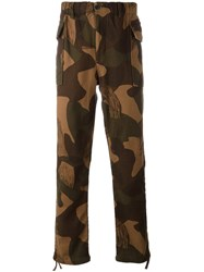 Levi's Camouflage Tapered Trousers Green