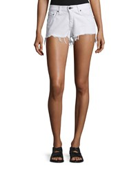 Rag And Bone Rag And Bone Jean Cutoff Denim Shorts White Freeport Women's Size 25