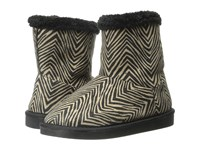 Vera Bradley Cozy Booties Zebra Women's Boots Animal Print
