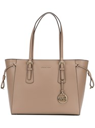 Michael Michael Kors Voyager Tote Bag Nude And Neutrals