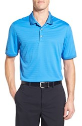 Men's Adidas Regular Fit Climalite Polo Ray Blue
