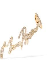 Stephen Webster Tracey Emin More Passion 18 Karat Gold Diamond Ear Cuff
