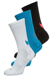 Nike Performance Hbr Crew 3Pack Sports Socks White Blue Black