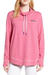 Vineyard Vines Women's Sunwashed Funnel Neck Sweatshirt