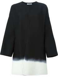 Dusan Gradient Effect Coat Black