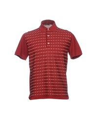 Avon Celli 1922 Polo Shirts Red