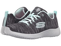 Skechers Burst New Influence Black Blue Women's Shoes