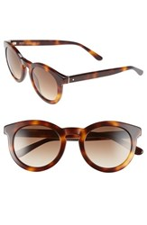 Women's Boss 48Mm Round Sunglasses Havana