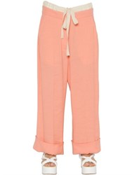 Maison Martin Margiela Viscose And Linen Blend Pants