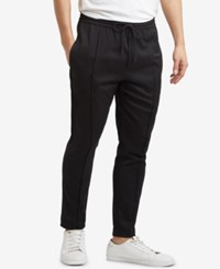 Kenneth Cole New York Pleated Pull On Pants Black