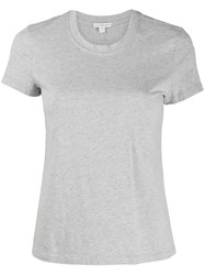 James Perse Classic Short Sleeve T Shirt Grey