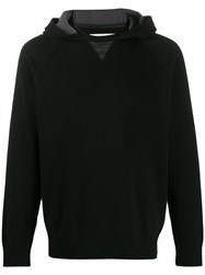 Z Zegna Knitted Cotton Hoodie 60