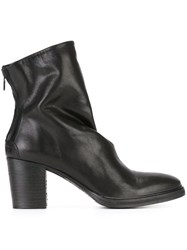 The Last Conspiracy Rear Zip Ankle Boots Black