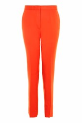 Topshop Tailored Suit Trousers Tomato