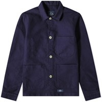 Bleu De Paname Counter Jacket Blue
