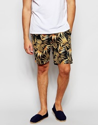 Scotch And Soda Floral Shorts Black